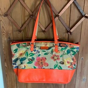Kate Spade Grove Court Floral Harmony Tote Bag